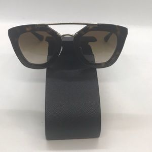 Prada 09QS Cinema Sunglasses UAO1L0 Brown